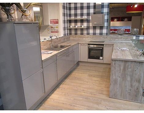 Lux Sand Hochglanz   Moderne Hochglanzküche