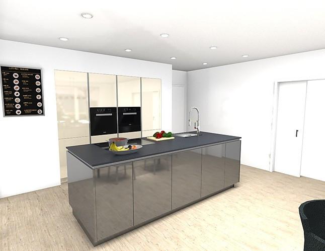 poggenpohl musterk che poggenpohl einbauk che in hl hochglanz und ml mattlack ausstellungsk che. Black Bedroom Furniture Sets. Home Design Ideas
