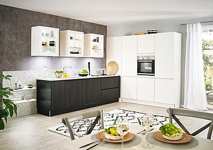 Küche schwarz-weiß