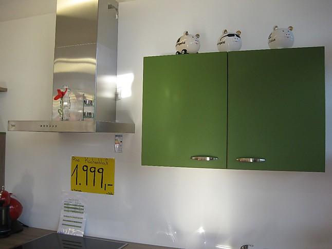 Pino-Musterküche Moderner Küchenblock in schönem Grün ...