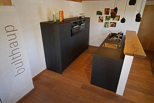 bulthaup musterk che eiche schwarzbraun s gerauh ausstellungsk che in grafing von schreinerei. Black Bedroom Furniture Sets. Home Design Ideas