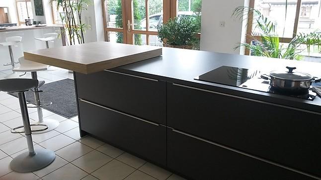 h cker musterk che ausstellungsk che modern viel stauraum. Black Bedroom Furniture Sets. Home Design Ideas