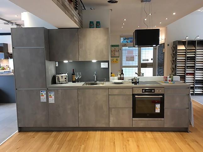 Elementa-Musterküche Moderne Küche In Beton-Optik