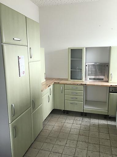Nobilia-Musterküche Schöne Nobilia Küche Front: Grün mit ...