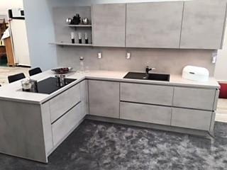 nobilia musterk che moderne einbauk che ausstellungsk che in birkenau von einrichtungshaus. Black Bedroom Furniture Sets. Home Design Ideas
