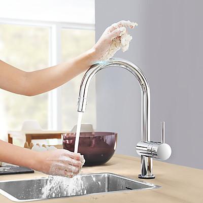 Küchenarmatur Minta Touch von GROHE mit Touch-Funktion