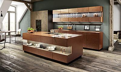 Metall Look in der Küche mit zeyko Metal-B Kupfer Stone