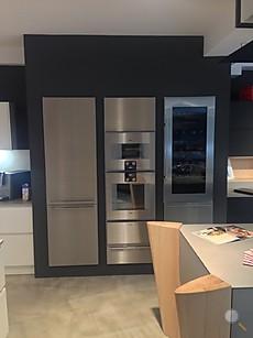 nieburg musterk che hochschrankblock edelstahl voll mit allerbesten ger ten. Black Bedroom Furniture Sets. Home Design Ideas