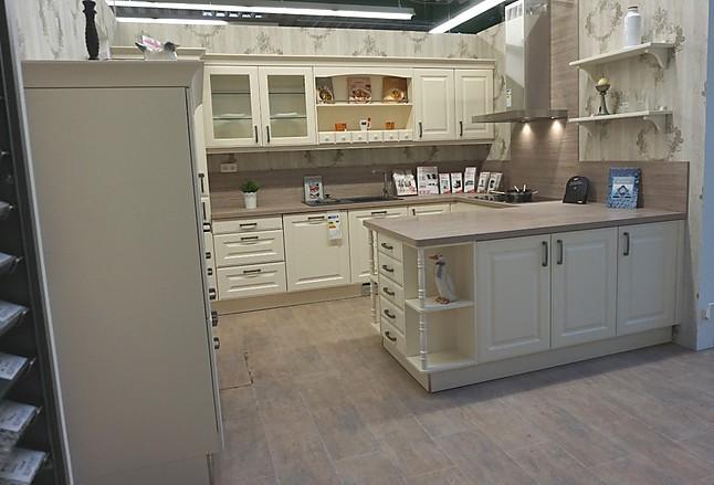 h cker musterk che hochwertige landhausk che von h cker breda magnolie in u form. Black Bedroom Furniture Sets. Home Design Ideas