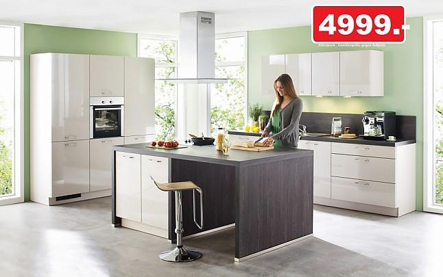 Nolte küchen sahara hochglanz  Nolte-Musterküche NOLTE Einbauküche Programm NOVA LACK ECHTLACK ...