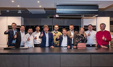 Küchen Mannschaft von Heka Küchenwelten
