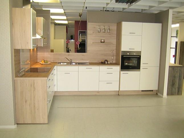 nobilia musterk che wei matt ausstellungsk che in von. Black Bedroom Furniture Sets. Home Design Ideas