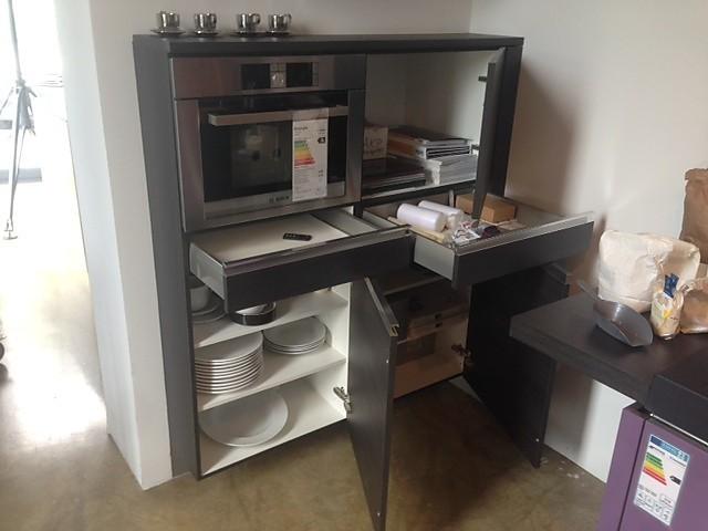 Küchenzeile Violett ~ häcker musterküche markant moderne küchenzeile ausstellungsküche in ettenheim von hein küchen