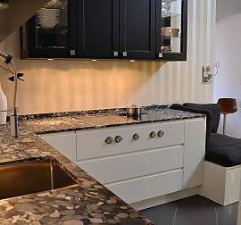 siematic musterk che strahlend weisse einbauk che ausstellungsk che in bad s ckingen von dick. Black Bedroom Furniture Sets. Home Design Ideas