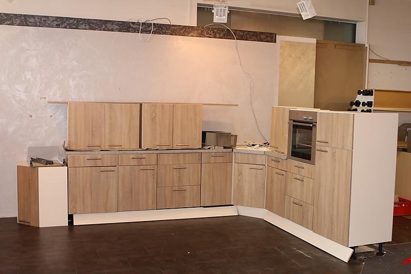 burger musterk che burger musterk che holzoptik abverkauf ausstellungsk che in hof von. Black Bedroom Furniture Sets. Home Design Ideas
