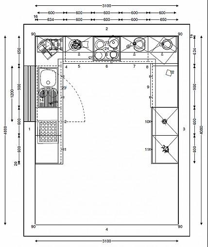 Tolle Kleine Küche Grundrisse Frei Galerie - Küchen Ideen ...