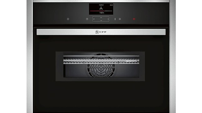 backofen cms1722n0 compact einbaubackofen mit integrierter. Black Bedroom Furniture Sets. Home Design Ideas
