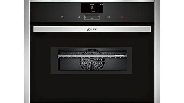 backofen cms1722n0 compact einbaubackofen mit integrierter mikrowelle neff k chenger t von. Black Bedroom Furniture Sets. Home Design Ideas