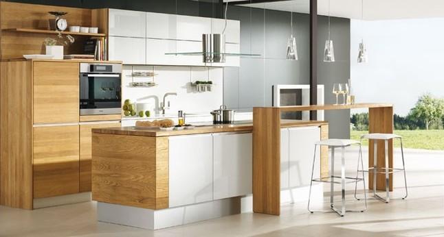 team 7 musterk che neuk che ausstellungsk che in von. Black Bedroom Furniture Sets. Home Design Ideas