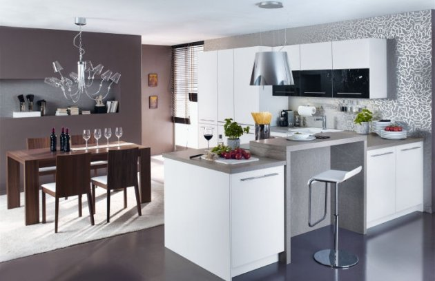 Küche weiß grau ~ noveric.com for .