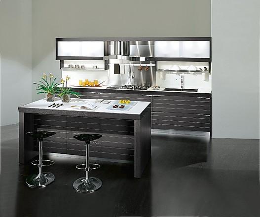 Moderne Küche Mit Theke | arkhia.com | {Einbauküchen mit theke 37}