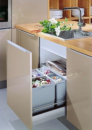 Innenausstattung der kuche kuchenbilder in der for Küche abfallsystem