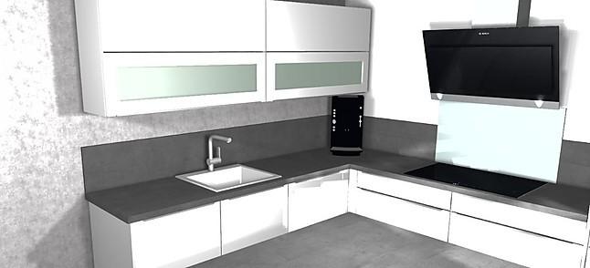 nobilia musterk che hochglanz k che mit bosch ger ten und keramiksp le ausstellungsk che in. Black Bedroom Furniture Sets. Home Design Ideas
