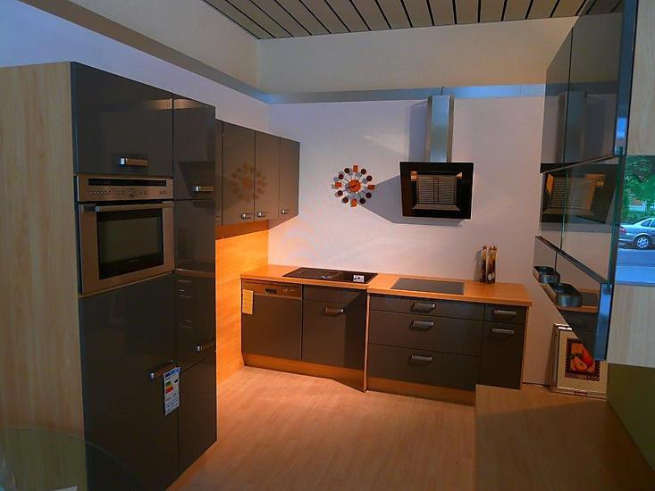 nobilia musterk che nobilia lux lack magma hochglanz ausstellungsk che in jena von wenzel wohnideen. Black Bedroom Furniture Sets. Home Design Ideas