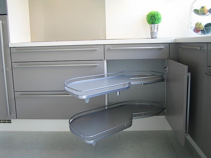 nobilia musterk che nobilia front feel lack matt fango ausstellungsk che in diez von. Black Bedroom Furniture Sets. Home Design Ideas
