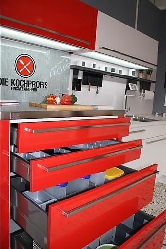 Nobilia-Musterküche exclusive L-Küche mit hochwertigen Neff ... | {Die kochprofis-küche 12}