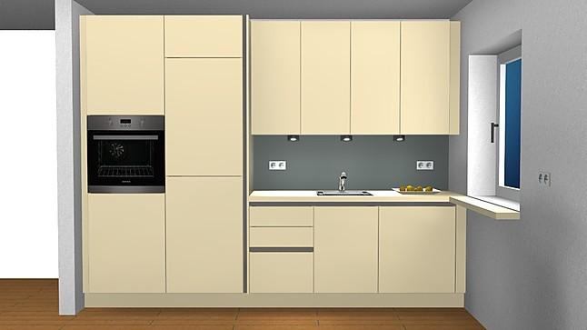 global k chen musterk che in polymerfolie magnolia. Black Bedroom Furniture Sets. Home Design Ideas