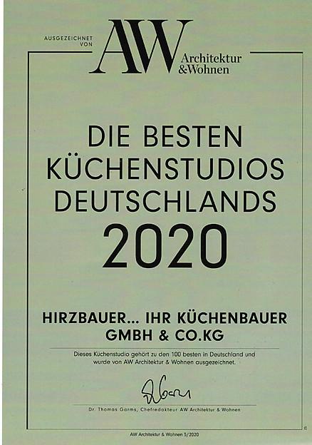 Auszeichnung der Zeitschrift Architektur & Wohnen
