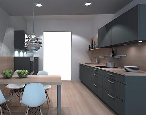 Einbauküche lackfront grau softmatt inkls constructa e geräte nolte ausstellungsküchen bis zu 70