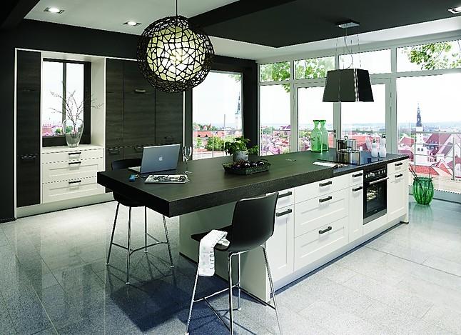 Nobilia   Cottage Zeitlos Moderne Kücheninsel Mit Ansatztisch/ Theke Inkl  Markengeräte
