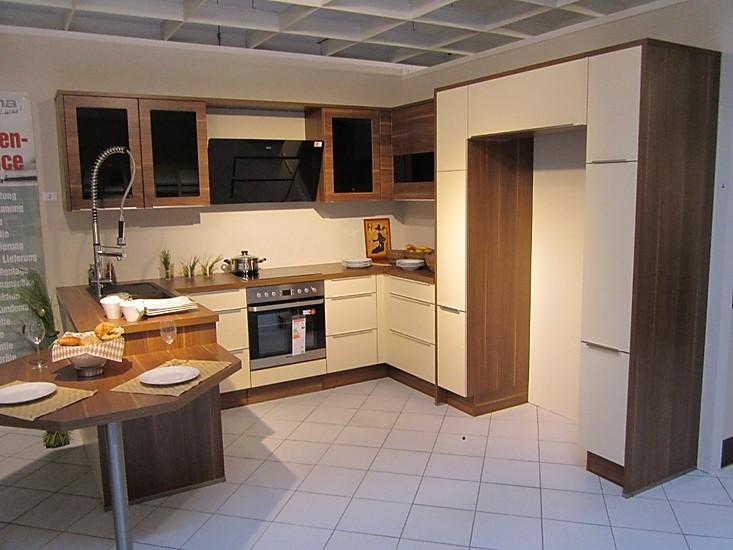 side by side k hlschrank ausstellungsk che in grimma sachsen von. Black Bedroom Furniture Sets. Home Design Ideas