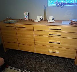 team 7 musterk che einbauk che erle vollholz natur l mit. Black Bedroom Furniture Sets. Home Design Ideas