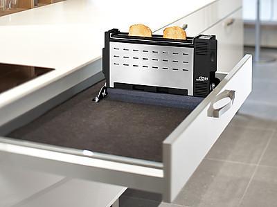 Einzigartiger Einbau-Toaster von ritter