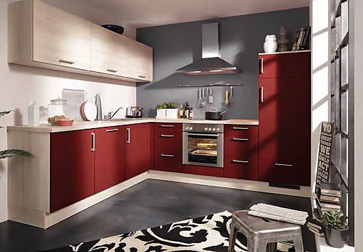 burger musterk che l k che mit allen e ger ten. Black Bedroom Furniture Sets. Home Design Ideas