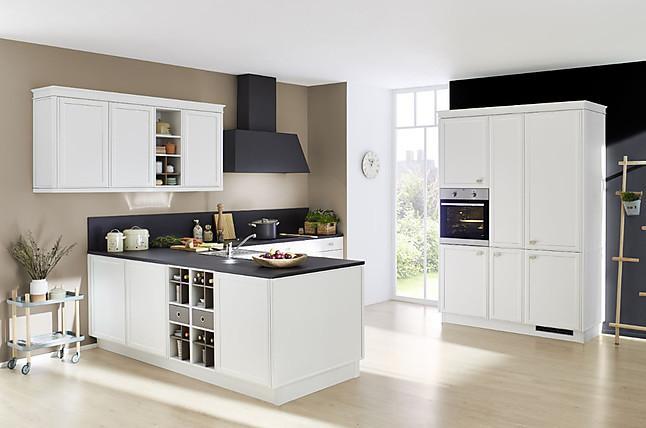 nolte-musterküche moderne l-küche mit insel
