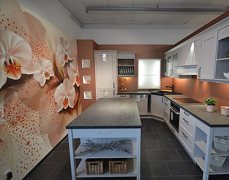 Landhaus Mit Natursteinarbeitsplatte   Landhausstil Bristol   Kaschmir