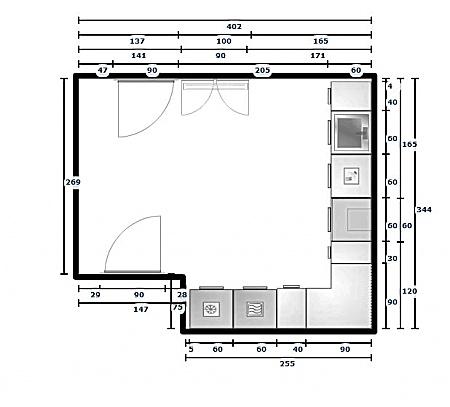 Küchenplanung ansicht  Küchenplaner: Gespeicherte Planung aus dem Online Küchenplaner vom ...
