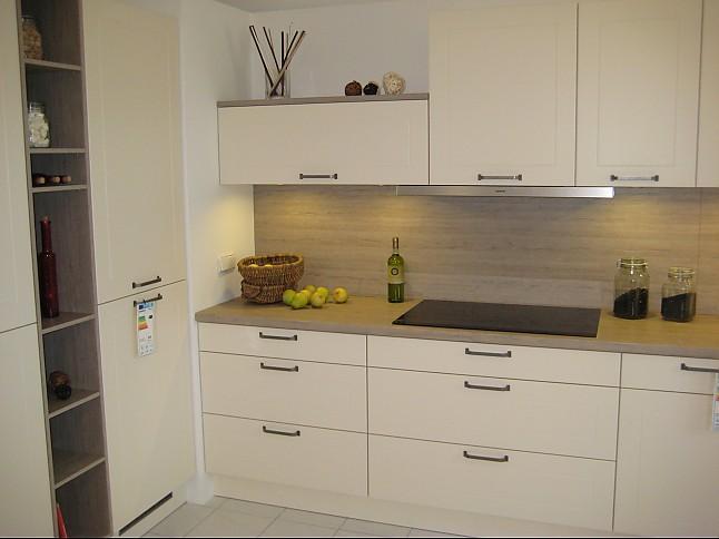 h cker musterk che einbauk che magnolie matt rahmenfront. Black Bedroom Furniture Sets. Home Design Ideas