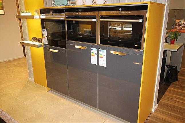 Hausmarke-Musterküche Moderne Küche in Metallic Hochglanz lackiert ...