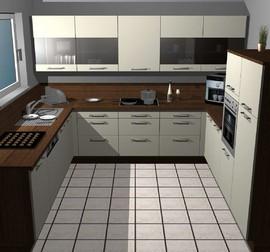 nobilia musterk che moderne l k che mit ecksp le ausstellungsk che in bensheim von k chen mink. Black Bedroom Furniture Sets. Home Design Ideas