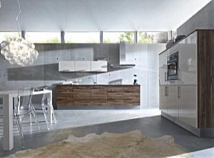 contur musterk che klare k chenarchitektur schn rkellose elegnaz ausstellungsk che in. Black Bedroom Furniture Sets. Home Design Ideas