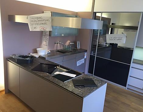 Siematic küche kunststoff in der farbe trüffel grau siematic farbe