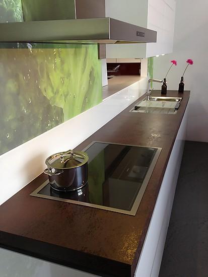 selektion d1 musterk che moderne grifflose k che in kombination mit ger te highboards und. Black Bedroom Furniture Sets. Home Design Ideas