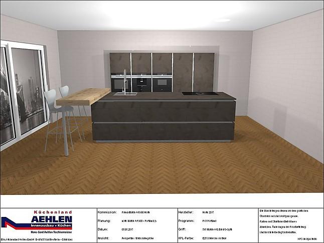 nolte musterk che weltneuheit von nolte matrix art. Black Bedroom Furniture Sets. Home Design Ideas