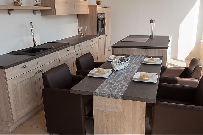 nobilia-musterküche moderne landhausküche mit kochinsel und, Wohnzimmer design