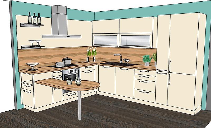 musterk che magnolie ausstellungsk che in peiting von k chenhaus hirschvogel. Black Bedroom Furniture Sets. Home Design Ideas